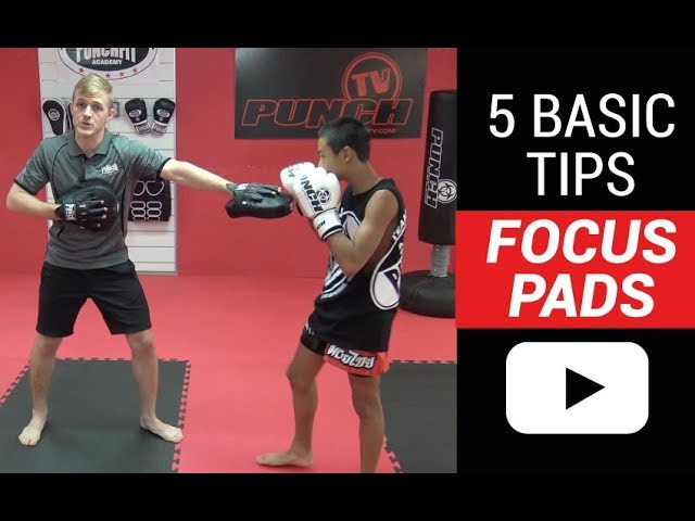 How to avoid poor Boxing Pad Work in 5 easy steps