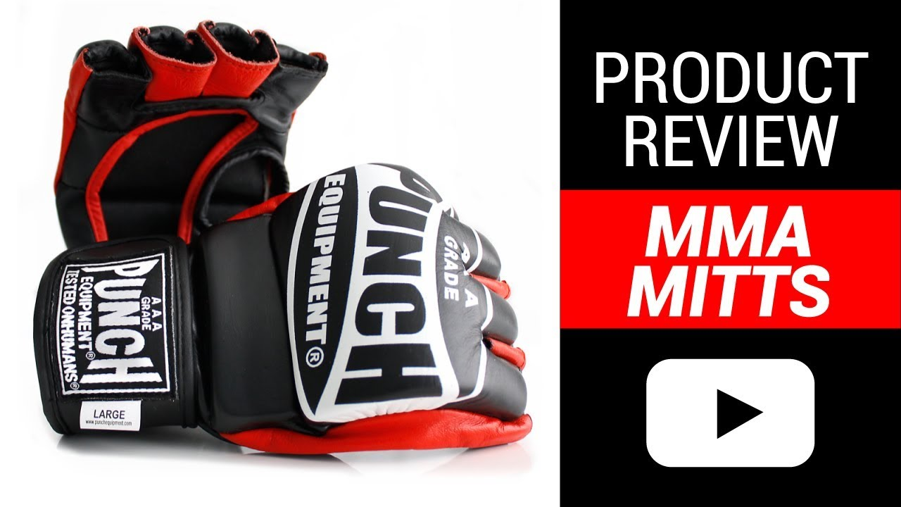 MMA Training & Grappling Mitts Review