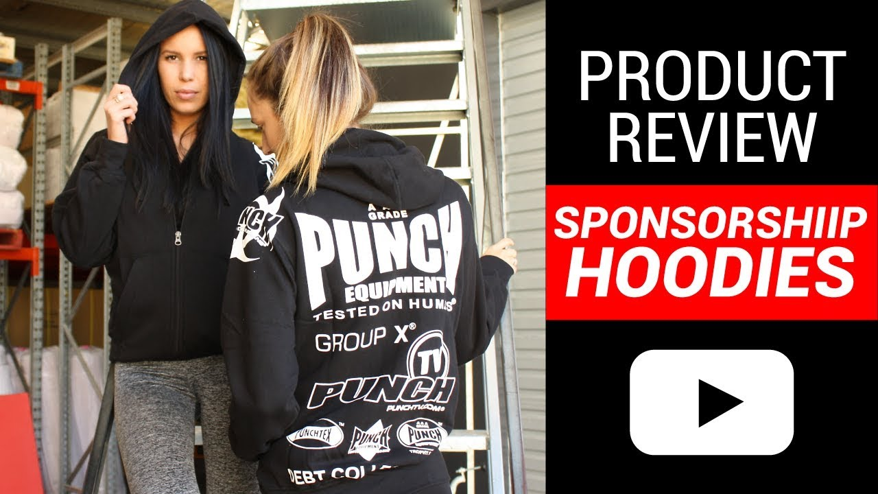 Punch® Sponsorship Hoodie Review