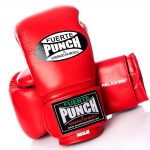 Red Punch Mexican Boxing Gloves