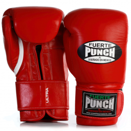 Red Punch Mexican Boxing Gloves 2 2021
