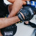 Lifestyle shot of the Armadillo Safety Focus Pads