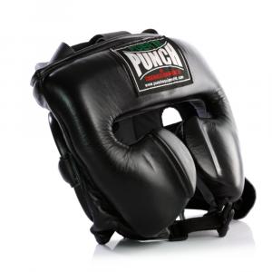 Side profile of the BlackFuerte Ultra Boxing Head Gear