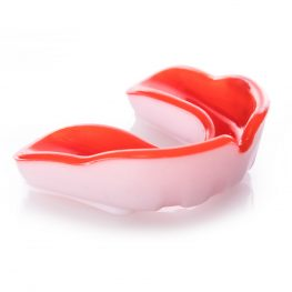 Red and white Cobra Gel Mouth Guard