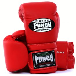 Fuerte Elite Boxing Gloves – Cowhide Leather
