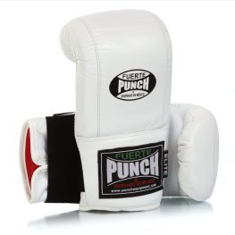 Mexican Fuerte Bag Mitts – White