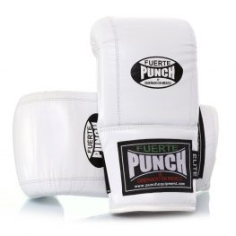 Mexican Fuerte Bag Mitts in white