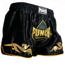 Retro Black Thai Shorts 2020