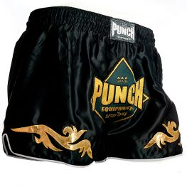 Retro Black Thai Shorts 2 2021