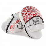 Rear profile of the Womens Red Lip Art Focus Pads