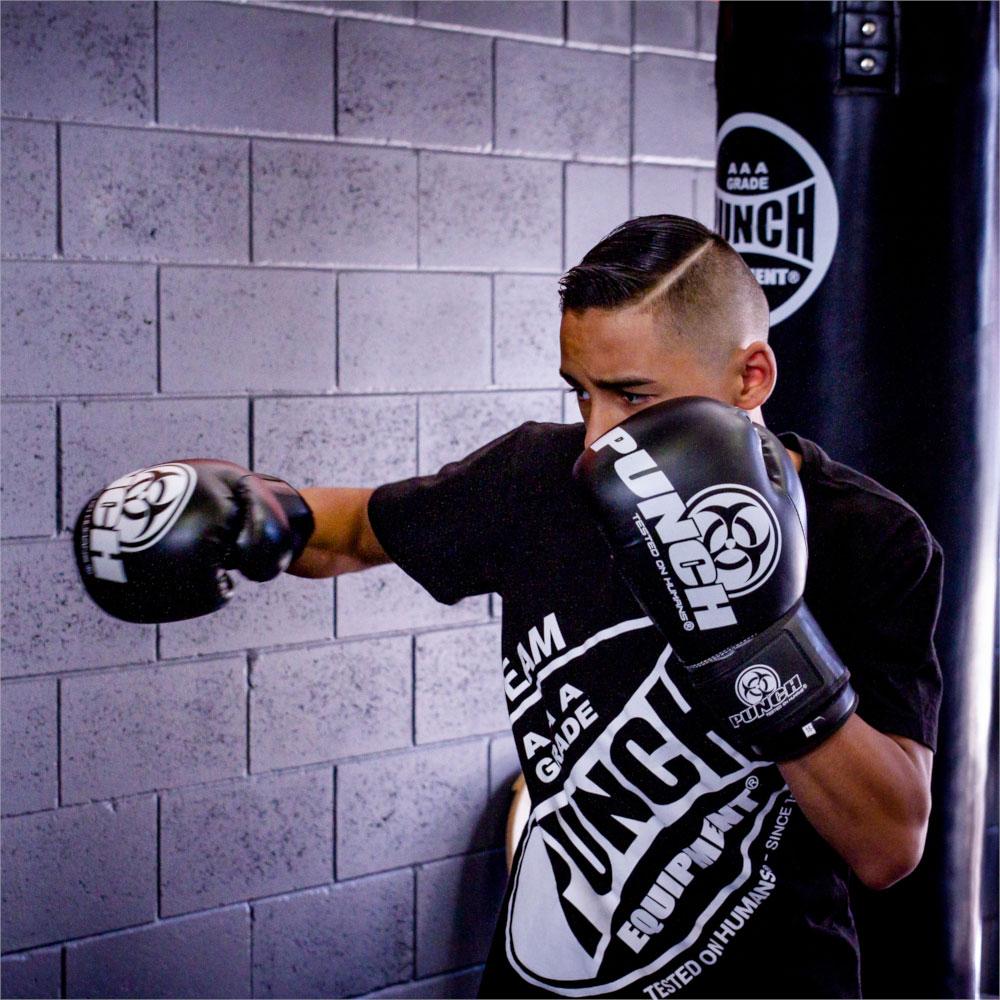 Action Black Urban Boxing Gloves
