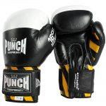 Black Armadillo Boxing Gloves