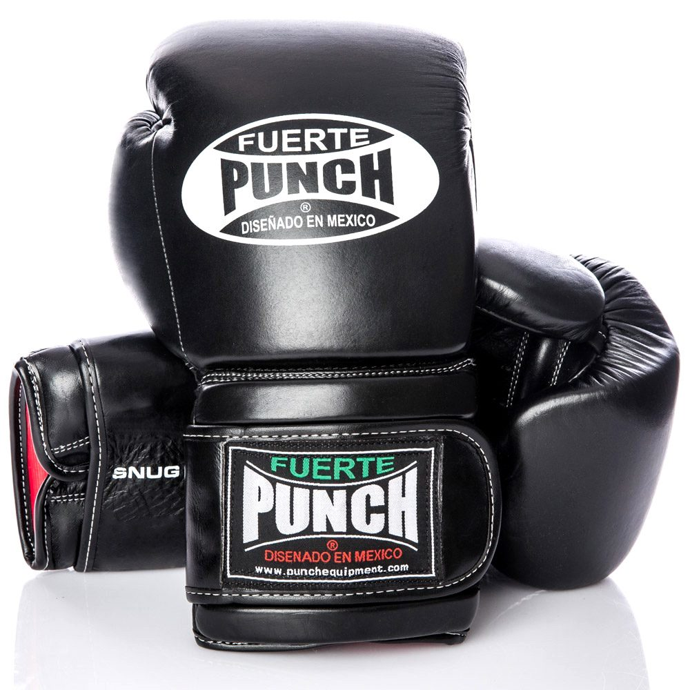 Black Elite Mexican Boxing Gloves