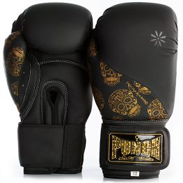 Gold Skulls Boxing Gloves 1 2021