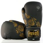 Gold Skulls Boxing Gloves 2 2020