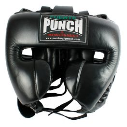 Mexican Boxing Ultra Head Gear Black 2