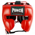 Mexican Boxing Ultra Head Gear Red 1