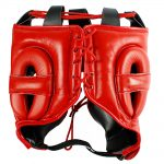 Mexican Boxing Ultra Head Gear Red 2