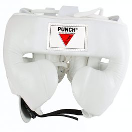Mexican Boxing Ultra Head Gear White 1 2021