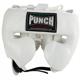 Mexican Boxing Ultra Head Gear White 1