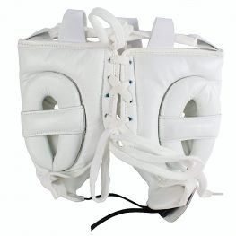 Mexican Boxing Ultra Head Gear White 2