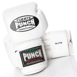 Mexican Fuerte Boxing Gloves 2 White 2020
