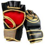 Mma Training Gloves Urban Black Gold