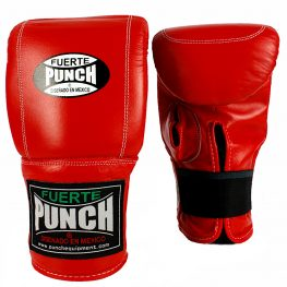 Punch Mexican Bag Gloves Red