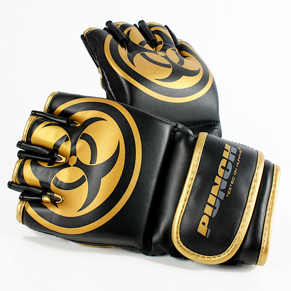 Punch Mma Gloves Urban Black Gold