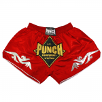 Retro Red Thai Shorts