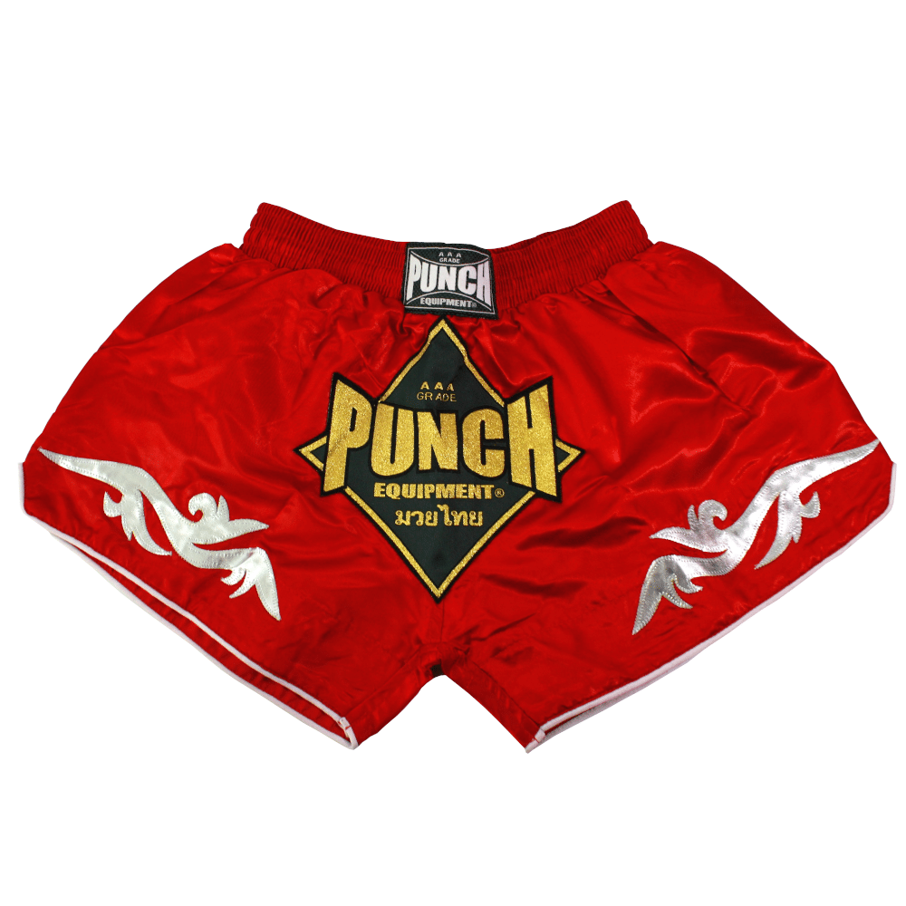 Retro Red Thai Shorts