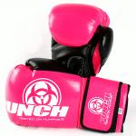 Urban Boxing Gloves Black Pink 3
