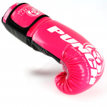Urban Boxing Gloves Black Pink 5