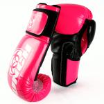Urban Boxing Gloves Black Pink 6