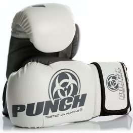 Urban Boxing Gloves White Grey 1 2020
