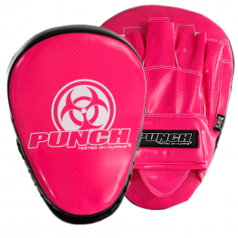 Urban Focus Boxing Pads Pink Black 2021 1