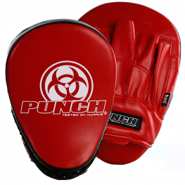 Urban Focus Boxing Pads Red Black 2021 1