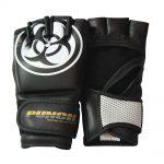 Urban MMA Gloves Black White
