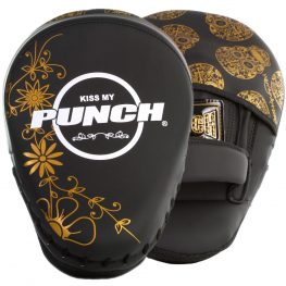 womens focus pads black gold skull 1 2021