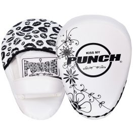 Womens Focus Pads Lip Art Black White
