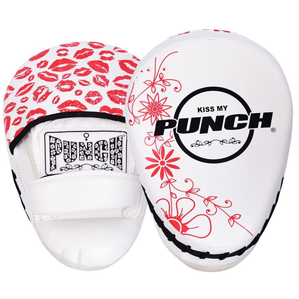 Womens Focus Pads Lip Art Red White
