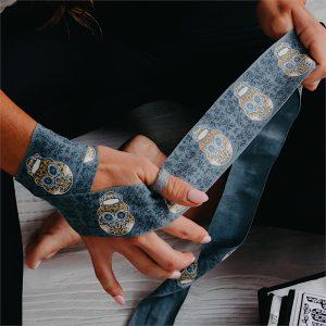 Womens Hand Wraps Skulls