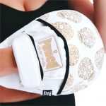 Womens Focus Pads White Gold Skull 1 V2