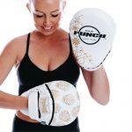 Womens Focus Pads White Gold Skull 2 V2