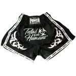TOH Thai Shorts White Black