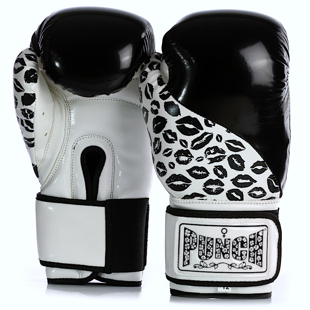 Womens Boxing Gloves Lip Art