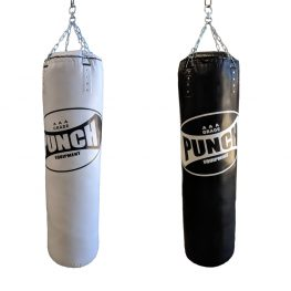Punch Jumbo Boxing Bags Black White