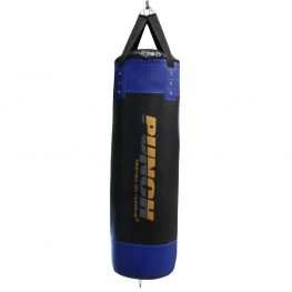 Blue Black Empty 4ft Boxing Bag