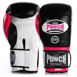 Punch Gloves Black Pink
