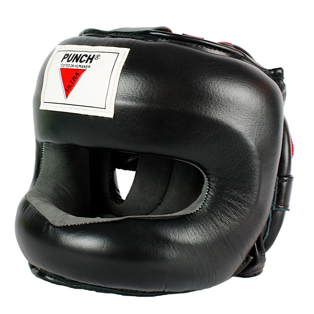 Ultra Facesaver Headgear Black 2